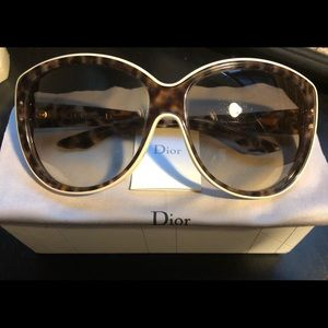 Christian Dior BENGALE Sunnies - Panther/Ivory/Br